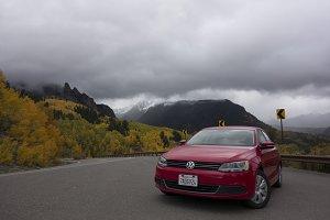 Red Voltswagon Jetta, Colorado