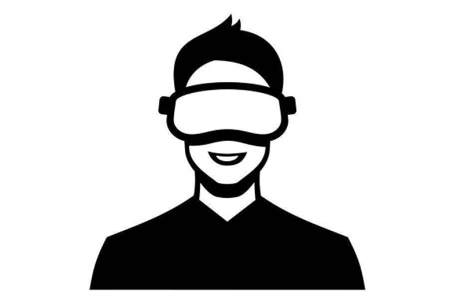 b4869e387f8 Virtual Reality Headset Icon Set ~ Icons ~ Creative Market
