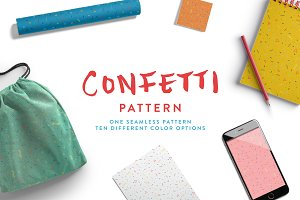Confetti Pattern Set