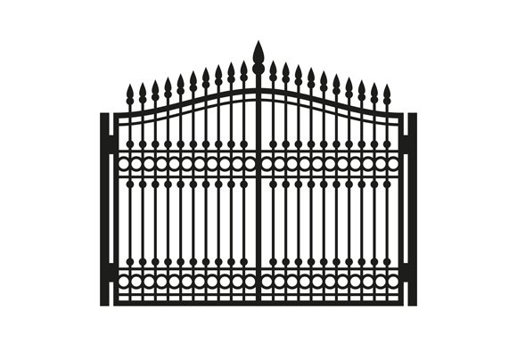 Fence Wrought Iron Gate