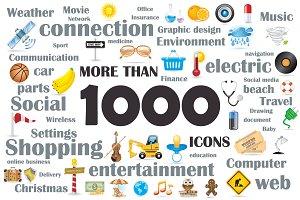 1000 icons