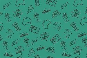 Australia set pattern