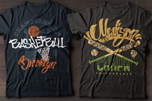 Basketball, baseball club.