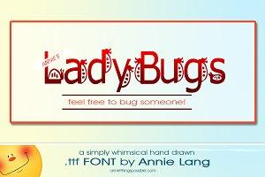 Annie's LadyBugs Font