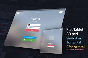 Tbalet Flat UI kit