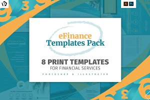 eFinance Brochure Template Pack