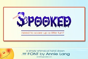 Annie's Spooked Font