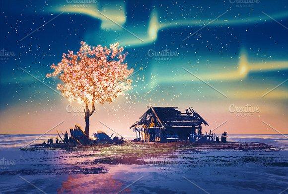Magic Tree In Winter