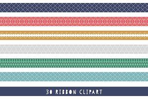 Ribbon Clipart - Border Clipart