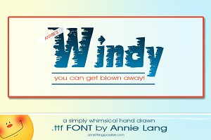 Annie's Windy Font