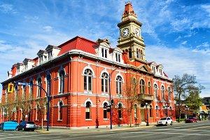 City hall in Victoria Canada