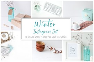 Winter Instagram Set