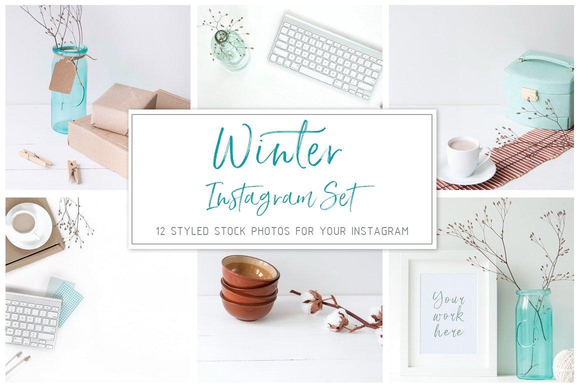 Winter Instagram Set