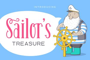Sailor's Treasure - Font Duo