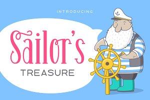 Sailor's Treasure - Font Duo
