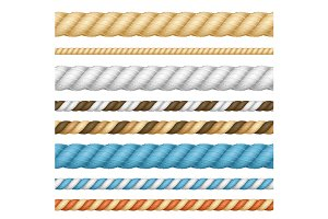 Thickness Rope Line Set