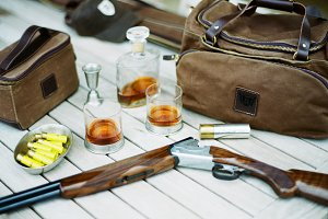 Shotgun Shooting & Bourbon