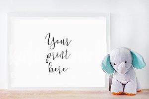 Frame Mockup Nursery Print