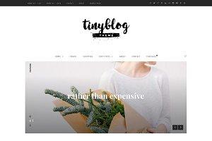 tinyblog - minimalist personal blog