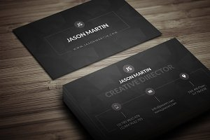 Dark Individual Business Card