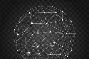 Polygonal wireframe