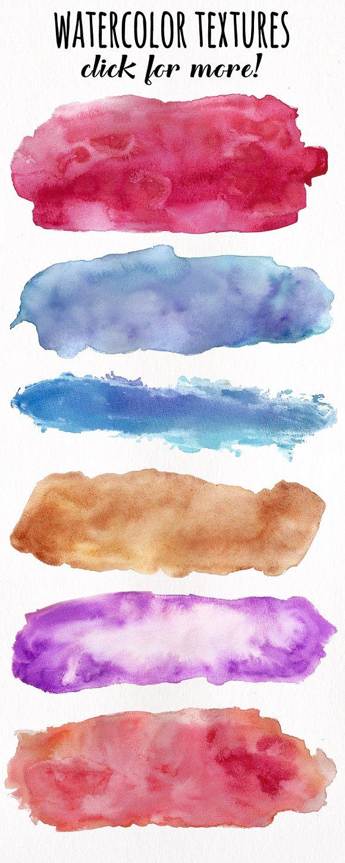 Watercolor Textures - Card Edition ~ Textures ~ Creative Market