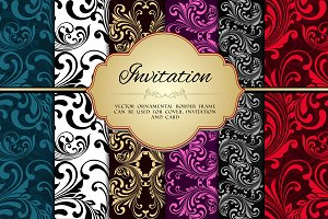 Vintage Invitations Set