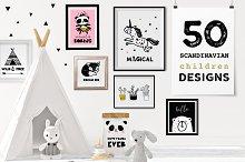 Scandinavian style decor & design