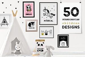 Scandinavian style decor & design