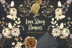 Love Story Flowers