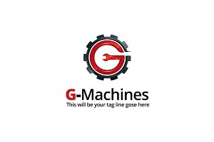 G-Machines Logo Template