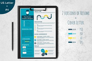 Infographics Resume Template