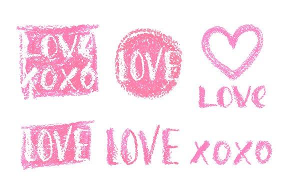 Happy Valentine\'s Day! Watercolor ~ Illustrations ~ Creative Market
