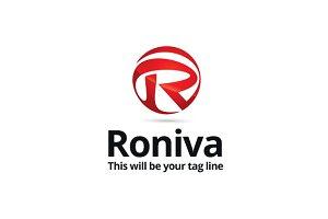 Roniva Logo Template