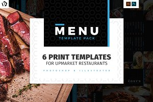 Restaurant Menu Templates Pack