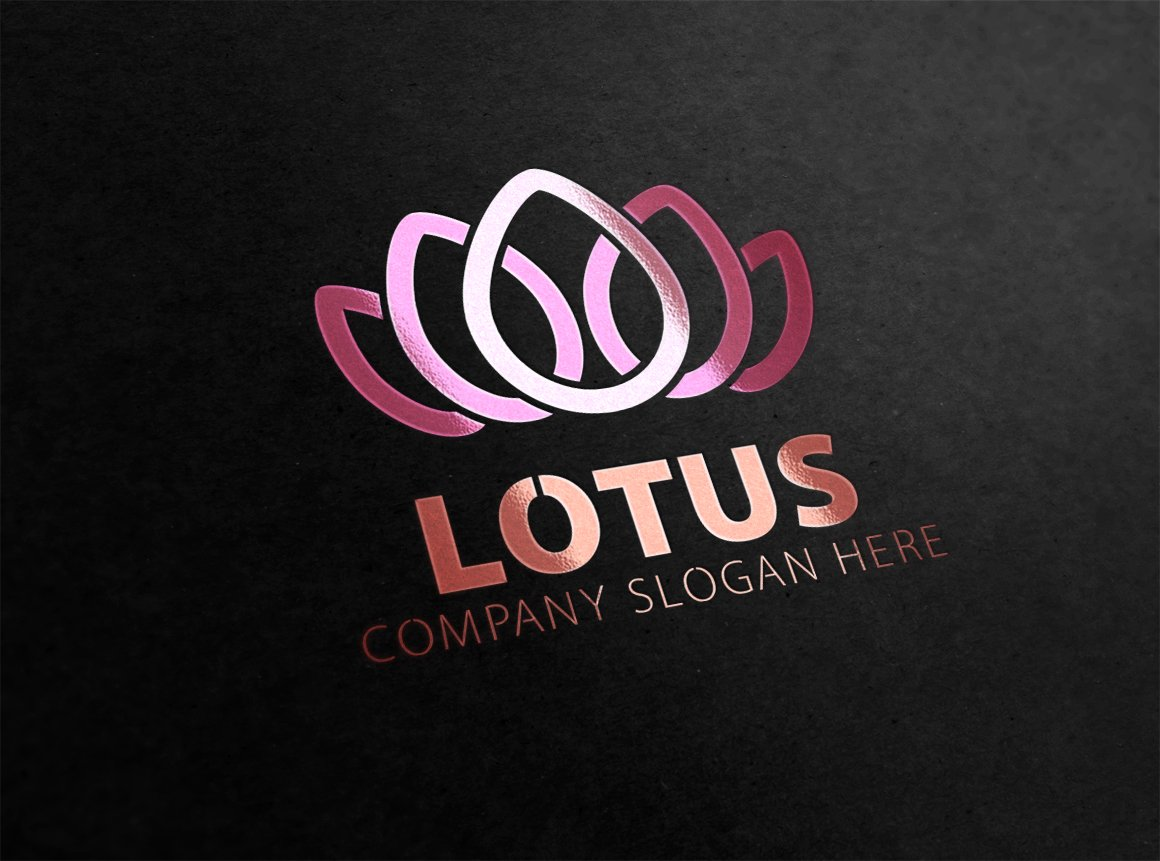 Lotus Logo Logo Templates Creative Market
