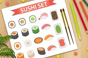 Sushi set + BONUS