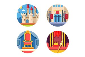 Medieval kingdom set