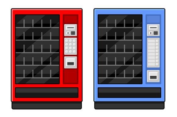 Vending Machine Set