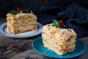 Layered cake, Napoleon