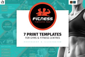 Gym / Fitness Template Pack