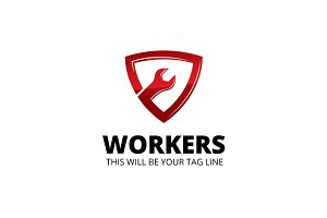 Workers Logo Template