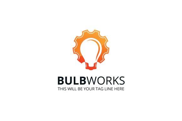 Bulbworks Logo Template