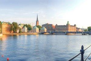 Stockholm panorama.