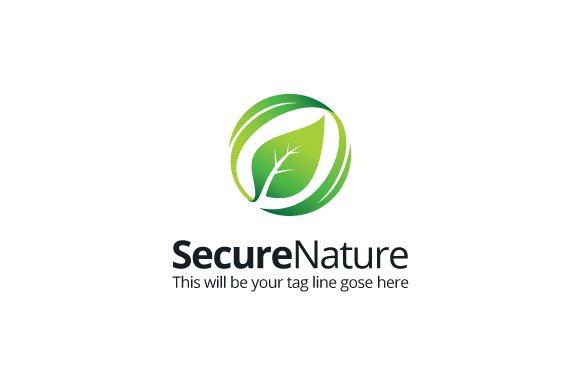 SecureNature Logo Template