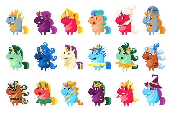 Unicorns In Disguise Set