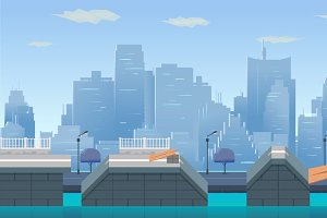 City Game Backgrounds