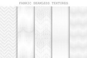 Seamless decorative fabric textures.
