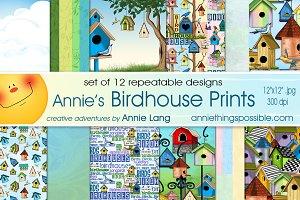 Annie's Birdhouse Prints