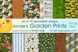 Annie's Garden Prints